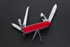 Cuchillo de ejército suizo fotografía de archivo libre de regalías