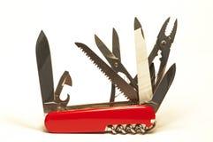 Cuchillo de ejército suizo Fotos de archivo libres de regalías