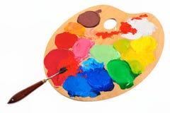 Cuchillo de gama de colores Imágenes de archivo libres de regalías