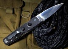 Cuchillo de la autodefensa Fotografía de archivo libre de regalías