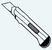 Cuchillo de la oficina Imagen de archivo