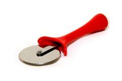 Cuchillo de la pizza imagen de archivo