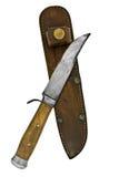 Cuchillo de la vendimia Imagen de archivo