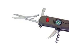 Cuchillo de múltiples funciones del bolsillo Fotografía de archivo libre de regalías