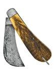 Cuchillo de poda de la vendimia Fotografía de archivo