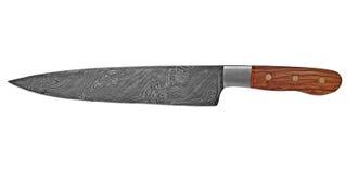 Cuchillo del cocinero del vintage Imagenes de archivo