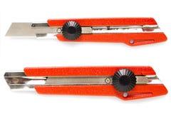 Cuchillo del cortador Fotos de archivo libres de regalías
