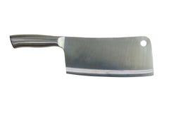 Cuchillo grande del acero inoxidable Fotografía de archivo