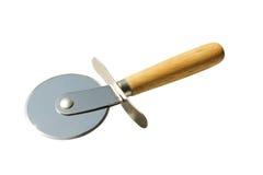 Cuchillo para la pizza fotografía de archivo libre de regalías