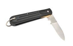 Cuchillo plegable Foto de archivo libre de regalías