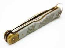 Cuchillo plegable de la aviación Fotografía de archivo libre de regalías