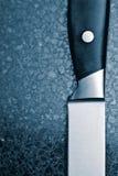 Cuchillo sostenido Fotos de archivo