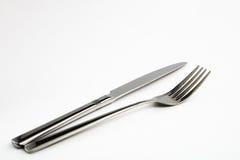 Cuchillo y fork Foto de archivo