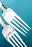 Cuchillo y fork Fotos de archivo