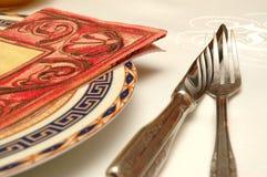 cuchillo y fork Fotos de archivo libres de regalías