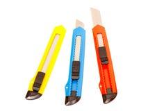 Cuchillos de la oficina Imagen de archivo