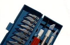 Cuchillos del arte fotos de archivo