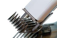 cuchillos Uno mismo-rectores para las podadoras de pelo imagenes de archivo