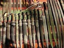 Cuchillos viejos Imagenes de archivo