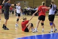 cuchnący handball Obrazy Stock