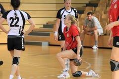 cuchnący handball Zdjęcia Stock