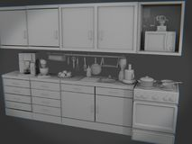 Cucina Fotografie Stock Libere da Diritti