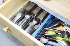 In cucina Fotografie Stock Libere da Diritti