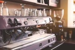 Cucina al vecchio caffè Fotografia Stock Libera da Diritti