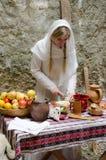 Cucina antica Fotografia Stock Libera da Diritti