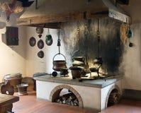 Cucina antica Fotografie Stock