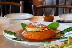 Cucina asiatica, budino Fotografie Stock Libere da Diritti