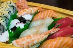 Cucina asiatica - frutti di mare immagini stock libere da diritti