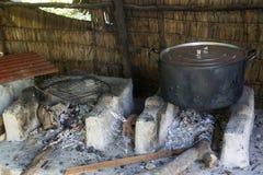Cucina cambogiana tradizionale Fotografia Stock Libera da Diritti