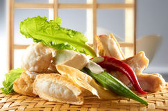 Cucina cinese asiatica Immagini Stock Libere da Diritti