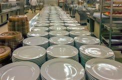 Cucina commerciale Fotografia Stock Libera da Diritti