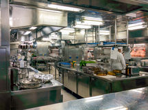 Cucina commerciale Fotografia Stock