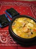 Cucina coreana Fotografie Stock