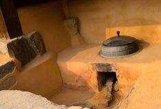 Cucina coreana antica Fotografia Stock Libera da Diritti