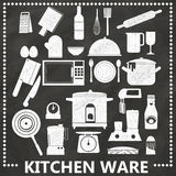 Cucina da gesso Fotografie Stock
