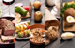 Cucina dei paesi differenti Fotografia Stock
