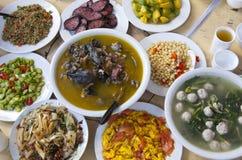 Cucina del cinese tradizionale Fotografia Stock Libera da Diritti