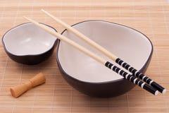 Cucina del giapponese del Cookware Fotografia Stock Libera da Diritti