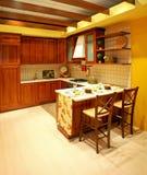 Cucina del paese Fotografia Stock