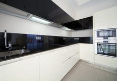 Cucina del progettista Fotografie Stock