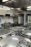Cucina del ristorante all'interno Immagine Stock Libera da Diritti