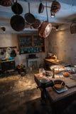 Cucina dell'annata di vecchio stile Fotografia Stock Libera da Diritti