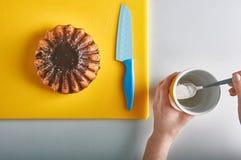 Cucina della prima colazione Fotografia Stock Libera da Diritti