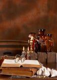 Cucina della strega fotografia stock