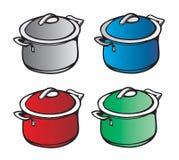 Cucina della vaschetta Fotografie Stock