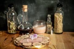 Cucina delle streghe fotografia stock